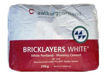 Bricklayers White - $11.30 per bag