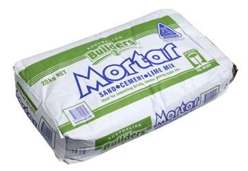Mortar Drymix - $7.6o per bag