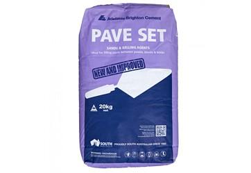 Pave Set Cement - $20.3o per bag