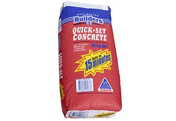 Quick-Set Concrete - $8.70 per bag
