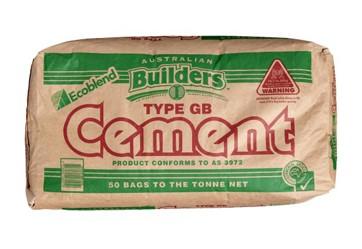 GB Cement - $8.5o per bag