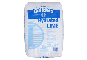 Hydrated Lime - $10.60per bag